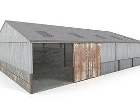 3D asset Farm shed