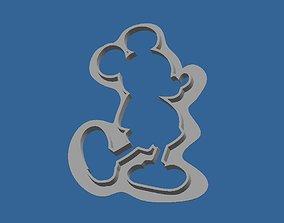 3D model Cookies Cutter Mickey