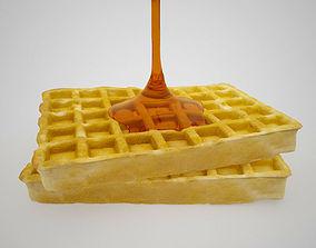 scan Waffle 3D model