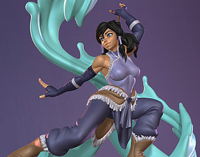 Avatar Korra SFW and NSFW 3D Printable Figurine