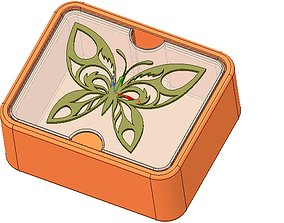 Gift wedding Jewelry Box small toy box 3D print model