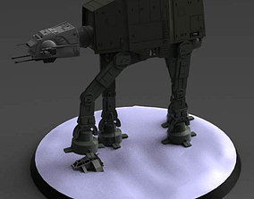AT AT and snowspeeder 3D print model