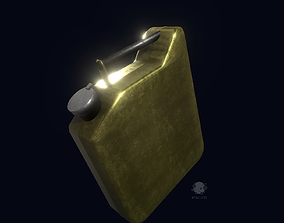 Jerrycan - Canister - Tank 3D model