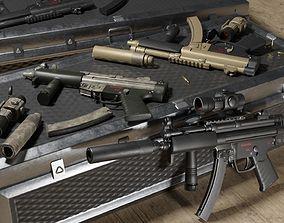 3D asset MP5 A4- Game Ready -