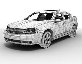 Dodge Avenger 3D model