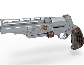 3D Tobias Beckett Blaster RSKF-44 from Solo A Star Wars
