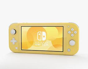 3D Nintendo Switch Lite Yellow