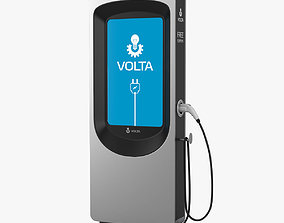 Volta Electric Vehicle Charger 3D