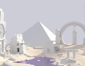 3D asset Ancient environment PART1
