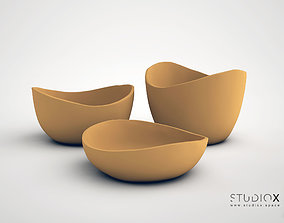 3D print model ELEMENTs RUSTIC BOWLs SET