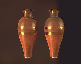 3D PBR Clay Pot