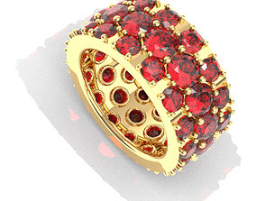 3D print model Pave Ring printable