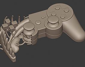 3D print model Ps3 contoller