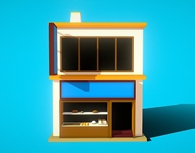 HIE Bread Shop N1 3D model