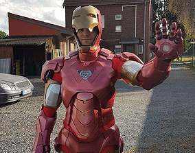 Iron Man Clothes Collection 3D print model