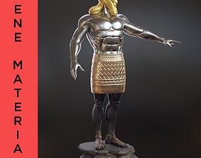 Daniel 2 Statue King Nebuchadnezzar 3D printable model 3