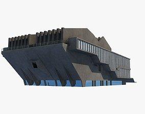Soviet Building Angular 3D model