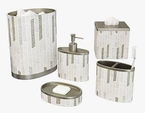 Titania Contemporary Bath Accessories 3D