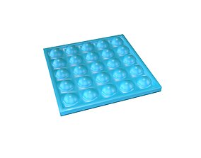 Push Bubble v1 002 3D asset