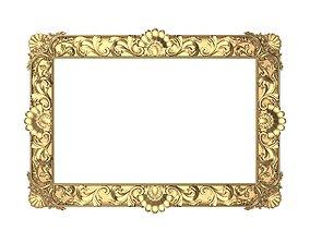 3D Carved Picture Frame margin