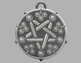 3D print model Yennefer medalion