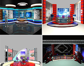 Television Studios Collection Vol 02 3D