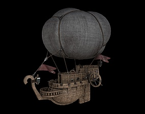 Airship 3D model VR / AR ready