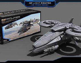 SF Light Fighter - 3D print model