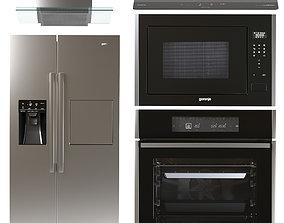 3D Set of kitchen appliances Gorenje 2