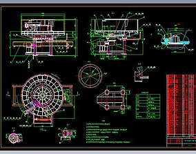 Disc feeder complete set of drawings 3D