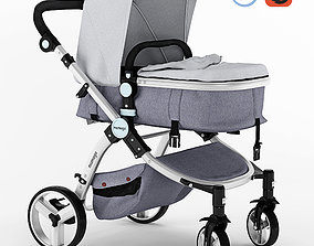 Mamago Platinum Baby Strollers 3D