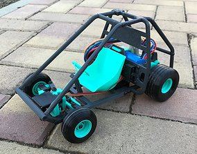 3D print model RC Go Kart