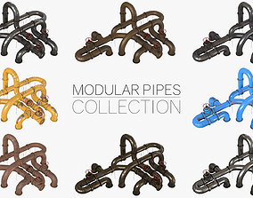 3D Pipes Modular Kit Collection