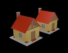 Houses game 3D model