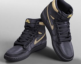 3D model 001216 Nike Jordan black