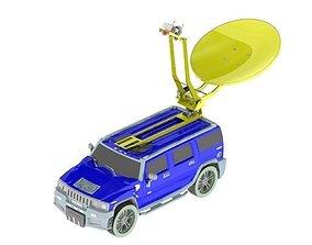 3D Hummer H2 with Radar