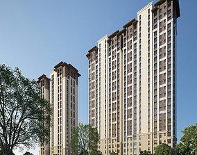 3D model Residential building 167