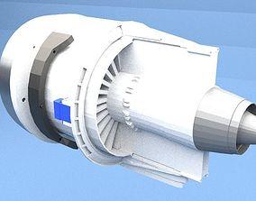 3D Printable GEnx Turbo Jet Engine - The Electric version