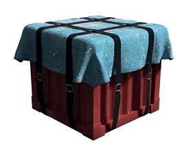 PUBG Supply Crate 3D