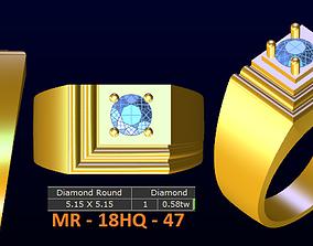 1 model diamond menring korea 47