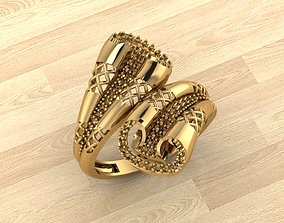 RING 96 gold 3D printable model