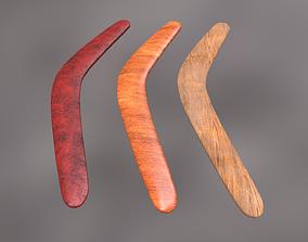 3D asset Boomerangs