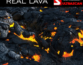 3D REAL LAVA