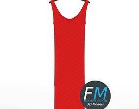 Hanging dress 1 3D model