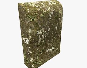 Mossy tomb 3D asset