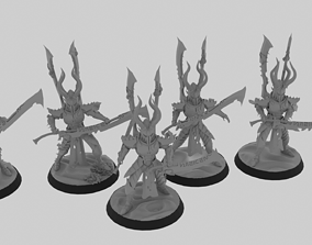 Incubi warriors 3D printable model