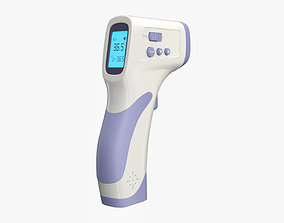 3D model game-ready Infrared Thermometer
