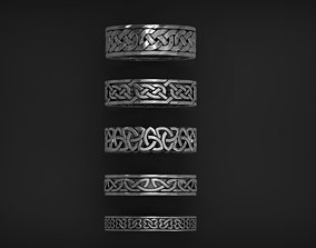 Ornament Rings collection 3D printable model