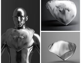 Jon Snow Cosplay costume Stark top 3D printable model 4