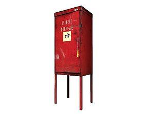 3D asset Fire Hydrant Box